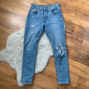 Levi's 501 skinny jeans in Can't Touch This Sz 25